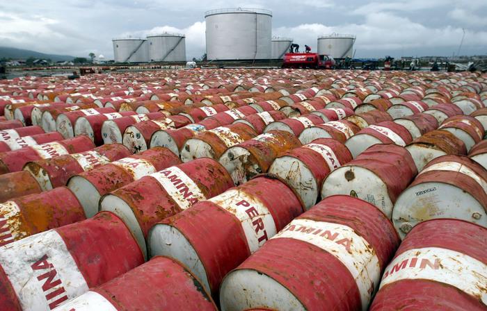 Petrolio: in rialzo a Ny a 58,56 dollari