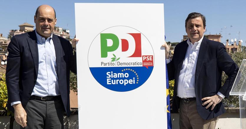 Pd, Zingaretti: ecco il logo per vincere le elezioni  europee