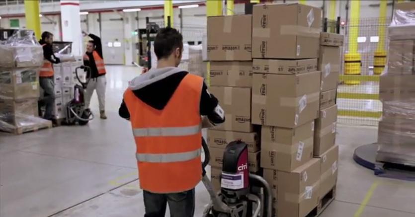 Amazon crea 1.200 posti di lavoro a Torrazza Piemonte