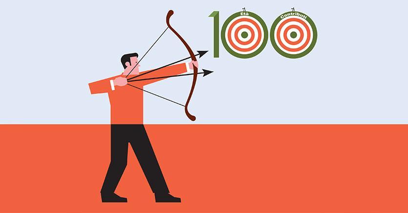 Tiro al bersaglio di quota 100: così si potenziano i contributi