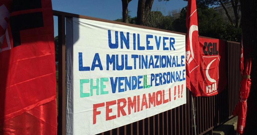 Dado Knorr, Unilever: «Verona non chiude». Lavoratori in sciopero