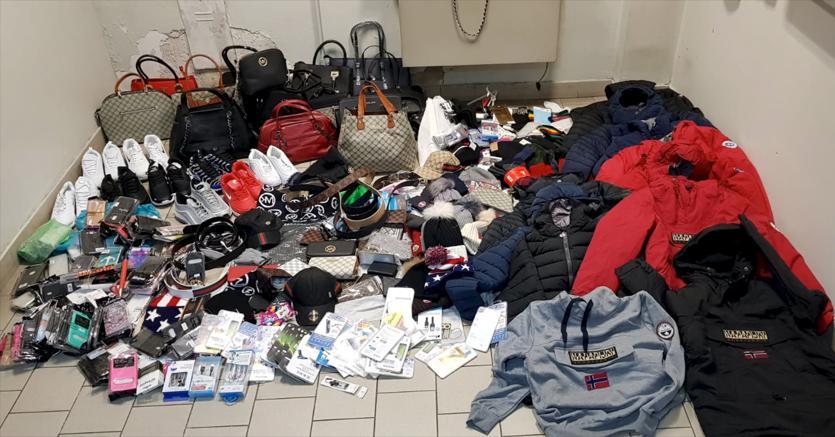 La contraffazione pesa  174 euro su ogni taliano (neonati compresi)