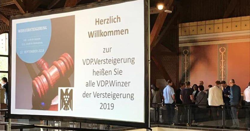 Germania, asta record di vino:18mila euro per una bottiglia di Riesling