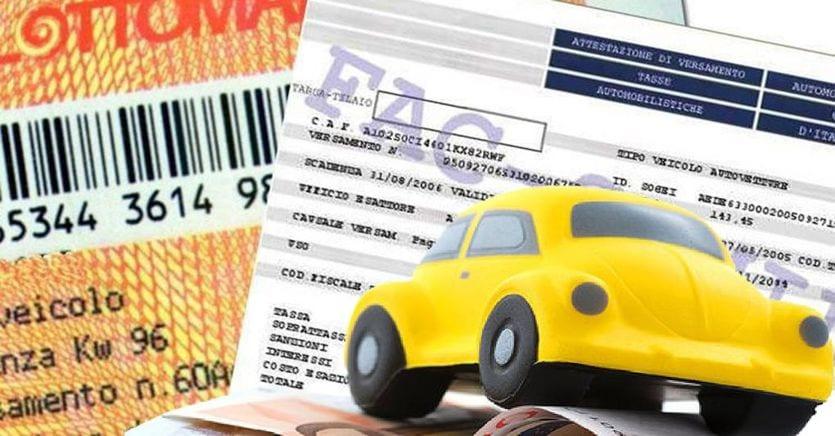 Bollo auto, condono fino a mille euro a chi non ha pagato tra 2000 e 2010