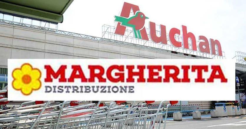 Margherita distribuzione:da Conad nuova regione sociale per Auchan Italia