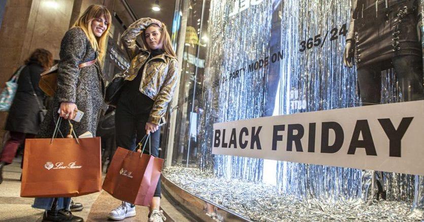 Black Friday, per il 2019 previsto +20% di vendite: così acquistano gli italiani