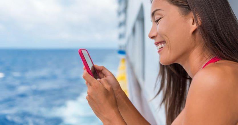 Smartphone sulle navi, Antitrust indaga sui rincari da roaming