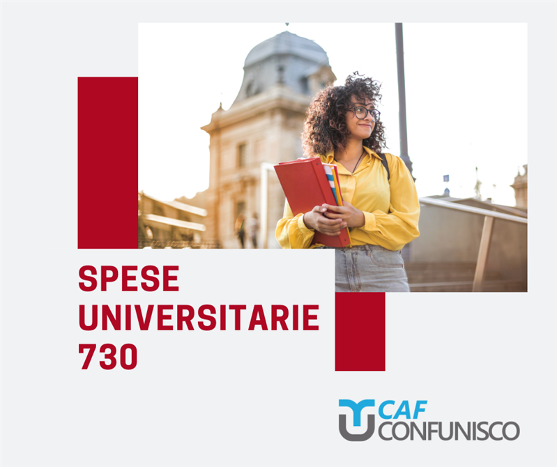 SPESE UNIVERSITARIE 730
