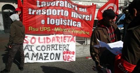 In Piemonte continua lo stato di agitazione degli autisti Amazon