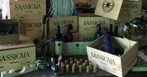 Sassicaia, il miglior vino del mondo sotto attacco: dalla Bulgaria una minaccia al Bolgheri