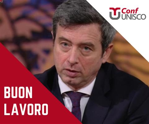 CONFUNISCO: BUON LAVORO AL MINISTERO DEL LAVORO E POLITICHE SOCIALI